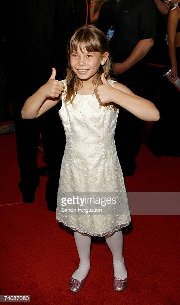 Bindi Irwin arrives at the 2007 TV Week Logie Awards at the Crown Casino on May 6 2007 in Melbourne Australia The annual television awards sees...