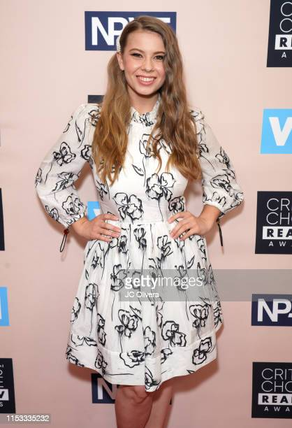 Bindi Irwin attends the Critics' Choice Real TV Awards on June 02, 2019 in Beverly Hills, California.