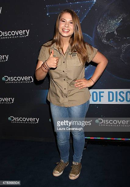 Bindi Irwin attends the Discovery 30th Anniversary Celebration at The Paley Center for Media on June 24 2015 in New York City