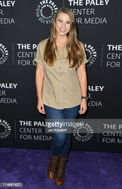 Bindi Irwin attends The Paley Center For Media Presents An Evening With The Irwins Crikey It's The Irwins Screening And Conversation at The Paley...