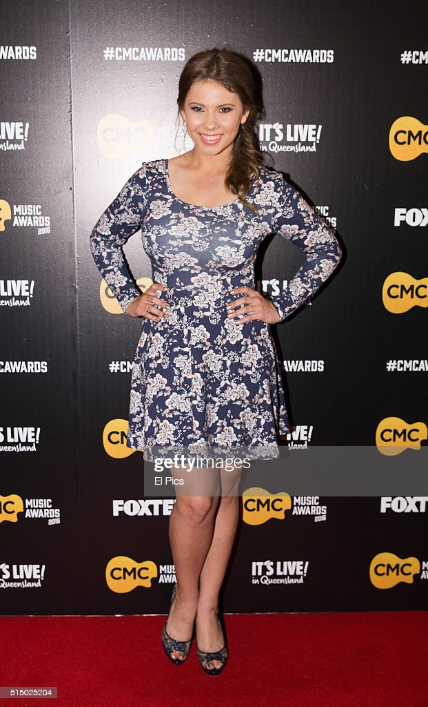 Bindi Irwin walks the red carpet at Country Music Channel Awards 2016 at the Queensland Performing Arts Centre on March 10, 2016 in Brisbane, Australia.