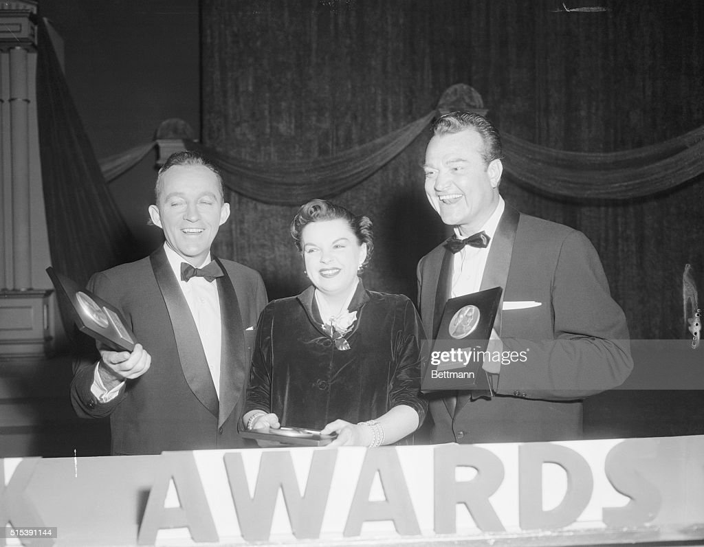 bing crosby and judy garland with red skelton