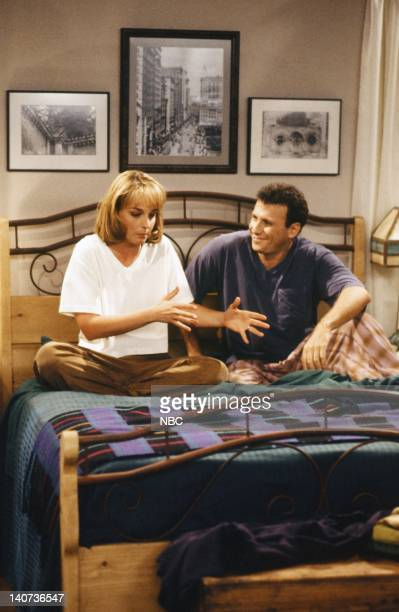 YOU Bing Bang Boom Episode 2 Pictured Helen Hunt as Jamie Stemple Buchman Paul Reiser as Paul Buchman Photo by Alice S Hall/NBCU Photo Bank