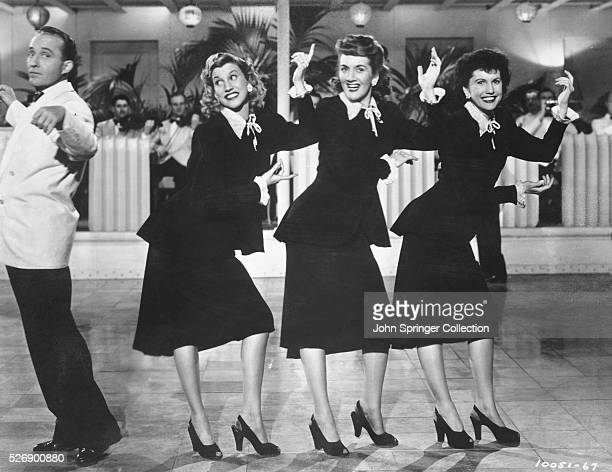 Bing Crosby Dancing with the Andrews Sisters