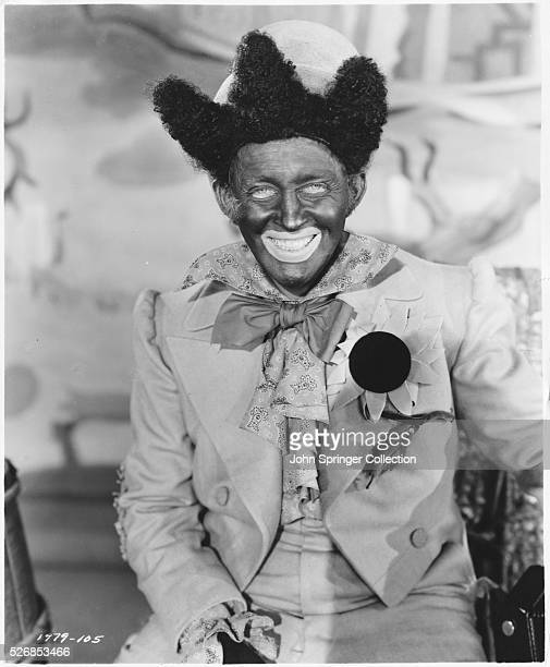 Bing Crosby dresses in stereotype costume and blackface in the 1943 movie Dixie The film is based on the life of Dan Emmett the composer of the...