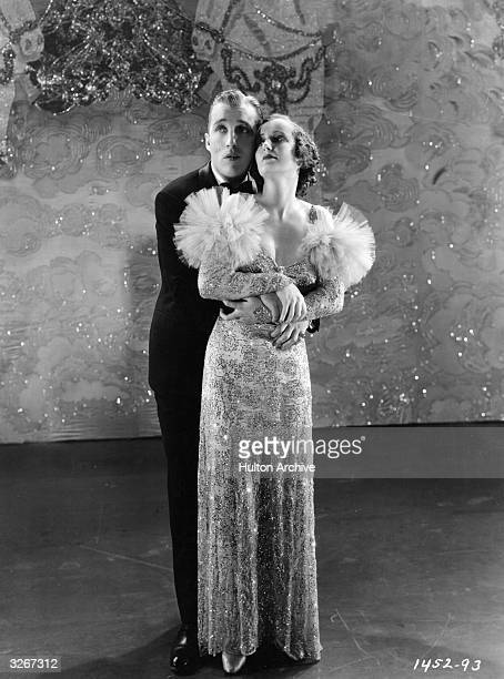 Bing Crosby sings a romantic song with Judith Allen from the light musical 'Too Much Harmony' directed by A Edward Sutherland for Paramount
