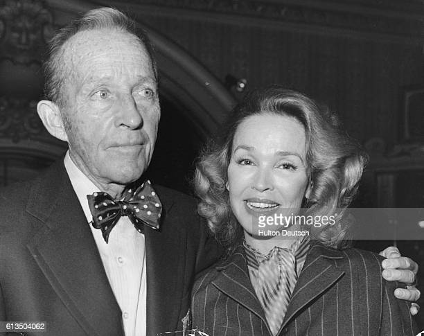 Bing Crosby with his second wife Kathryn shortly before his death