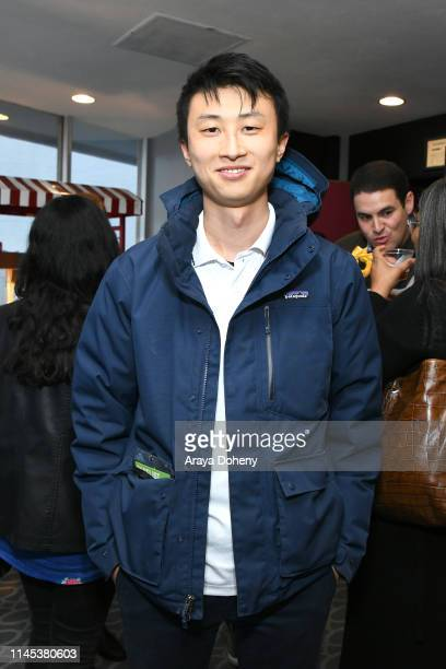 Bing Liu at the premiere for Olivia Wilde's Booksmart at the Film Independent Forum Day 1 at Harmony Gold Theatre on April 26 2019 in Los Angeles...