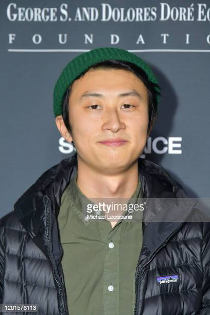 Bing Liu attends 2020 Sundance Film Festival An Artist At The Table Presented By IMDbPro Dinner Reception at Juniper at Newpark on January 23 2020 in...
