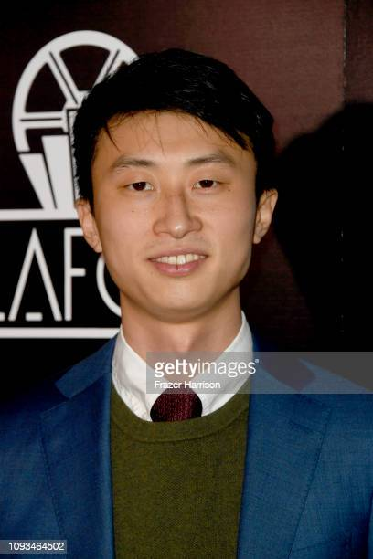Bing Liu attends the 44th Annual Los Angeles Film Critics Association Awards at the InterContinental Hotel on January 12 2019 in Century City...