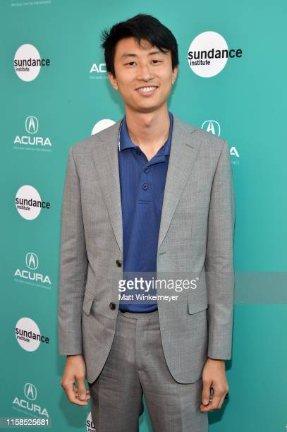 Bing Liu attends The Farewell LA premiere presented by Sundance Institute and hosted by Acura at The Theatre at Ace Hotel on June 26 2019 in Los...