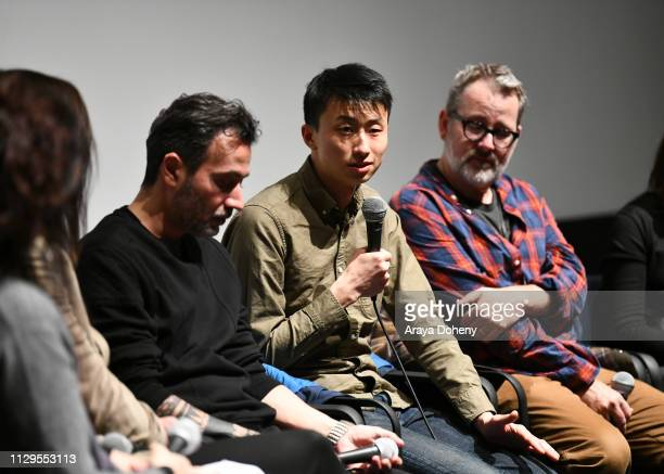 Bing Liu attends the Film Independent Directors CloseUp Another Type Of Narrative The Truth Of Docs at The Landmark on February 13 2019 in Los...