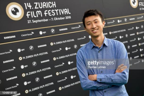 Bing Liu attends the 'Mind the Gap' photo call during the 14th Zurich Film Festival at Festival Centre on October 03 2018 in Zurich Switzerland
