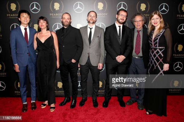 Bing Liu Gordon Quinn Justine Nagan and guests attend the 78th Annual Peabody Awards Ceremony Sponsored By MercedesBenz at Cipriani Wall Street on...