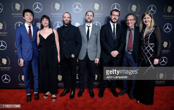 Bing Liu Gordon Quinn Justine Nagan and guests attend the 78th Annual Peabody Awards at Cipriani Wall Street on May 18 2019 in New York City
