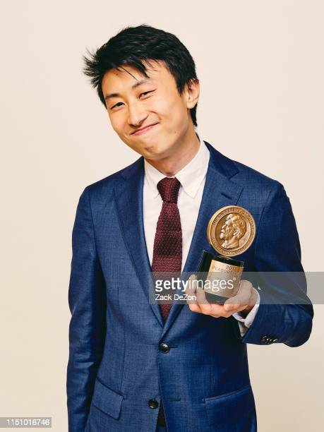 Bing Liu of Minding the Gap poses for a portrait during The 78th Annual Peabody Awards Ceremony on May 18 2019 in New York City