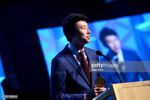 Bing Liu speaks onstage at the 78th Annual Peabody Awards Ceremony Sponsored By MercedesBenz at Cipriani Wall Street on May 18 2019 in New York City