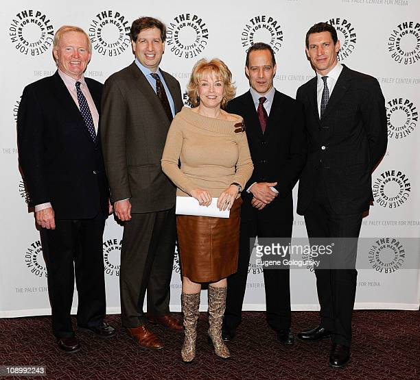"""Bing West, Gideon Rose, Pat Mitchell, Sebastian Junger and Tim Hetherington attend special screening of """"Restrepo"""" at The Paley Center for Media on..."""
