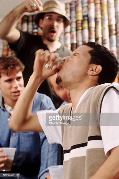 Binge drinking college students