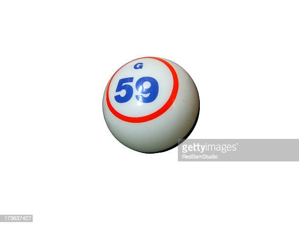 Bingo ball w path
