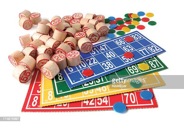Bingo !  ( Isolated on White )
