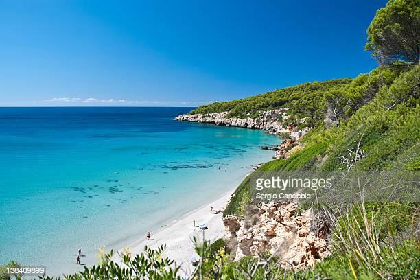 binigaus beach - ミノルカ ストックフォトと画像