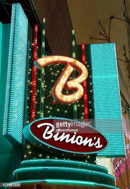 Binion's Hotel and Casino Nighttime