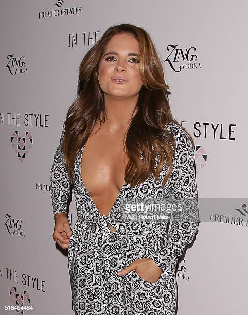 Binky Felstead attending the In The Style clothing launch at Libertine on March 31 2016 in London England