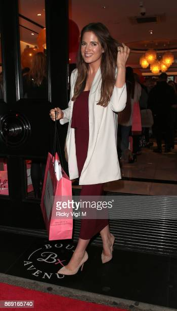 Binky Felstead attends Boux Avenue Christmas campaign launch on November 1 2017 in London England