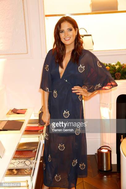 Binky Felstead attends the new flagship store launch of Aspinal on Regent's Street St James's on December 5 2017 in London England