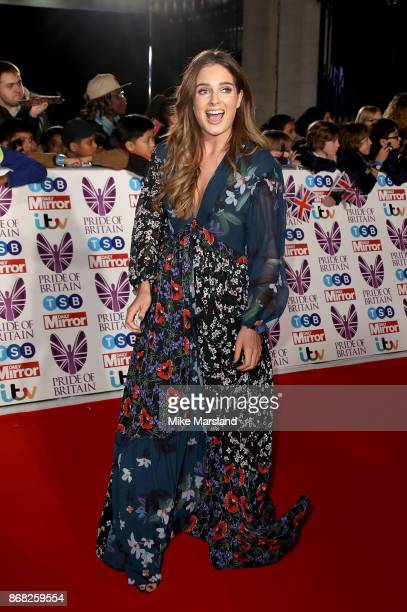 Binky Felstead attends the Pride Of Britain Awards at Grosvenor House on October 30 2017 in London England