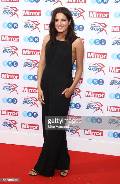 Binky Felstead attends the Pride of Sport awards at Grosvenor House on November 22 2017 in London England