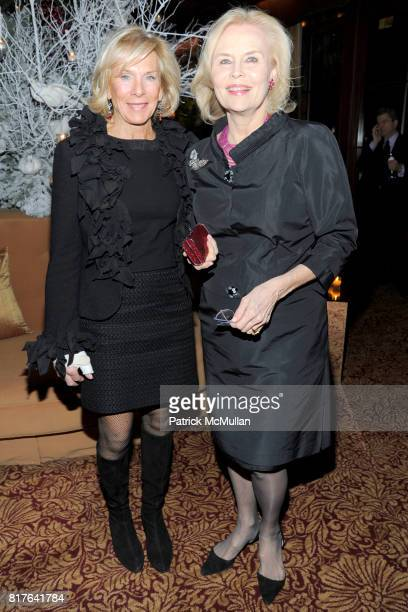 Binky Urban and Cornelia Bregman attend ANNE HEARST MCINERNEY JAY MCINERNEY and GEORGE FARIAS Holiday Party at 21 Club on December 16 2010 in New...