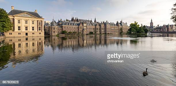 binnenhof, the hague, holland - binnenhof stock photos and pictures