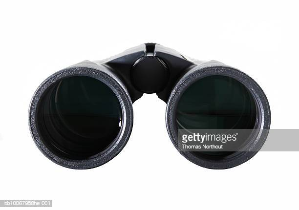 Binocular on white background