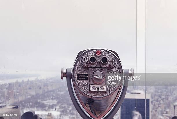 Binoculars at Rockefeller Center