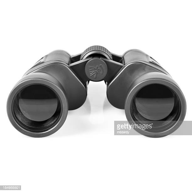 Binoculars, isolated on white background