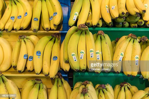 Bio Bananas are for sale at a tegut store on May 19 2015 in Schweinfurt Germany