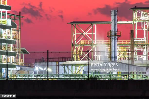 biodiesel refinery in thailand. - tear gas fotografías e imágenes de stock