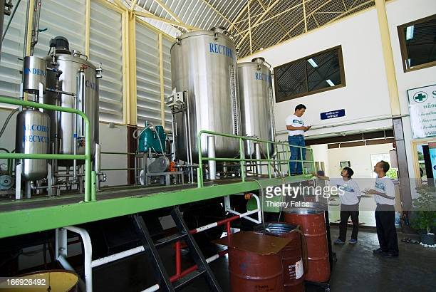 A biodiesel unit production in northern Thailand The Thai government launched a biodiesel trial production in April 2005 using raw material such as...