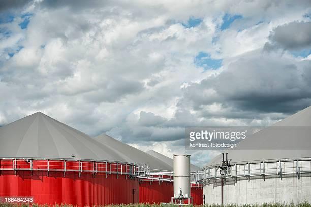 Bioenergie 、バイオマスをエネルギーの所に入口雷雨