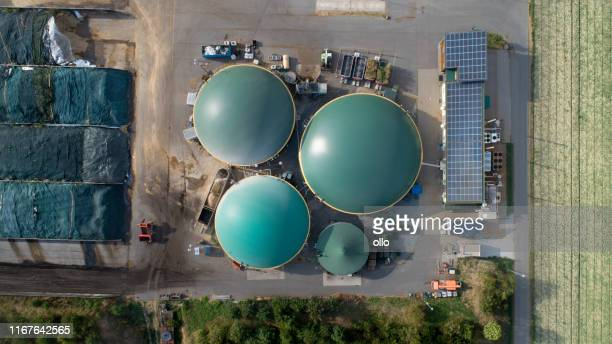 biogas plans - industrial equipment stock pictures, royalty-free photos & images