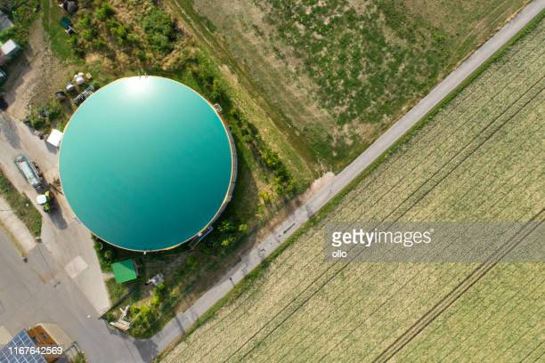 biogas plans - tank stock pictures, royalty-free photos & images