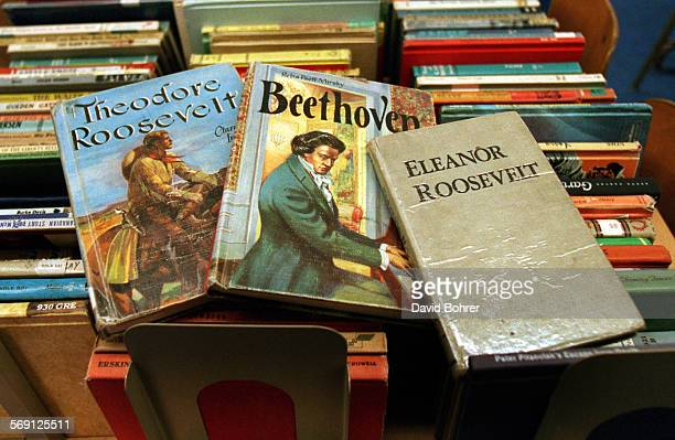 Biographies of Theodore Roosevelt Beethoven and Eleanor Roosevelt were just some of the nearly 1000 books that LAUSD officials removed Tuesday...