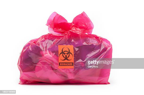 bio-hazard bag/small - toxic waste stock pictures, royalty-free photos & images