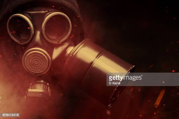 biohazard - gas mask stock pictures, royalty-free photos & images