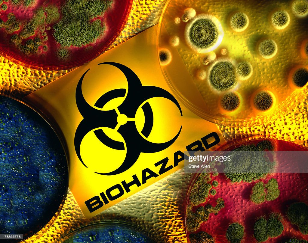 Biohazard Warning Symbol Stock Photo Getty Images