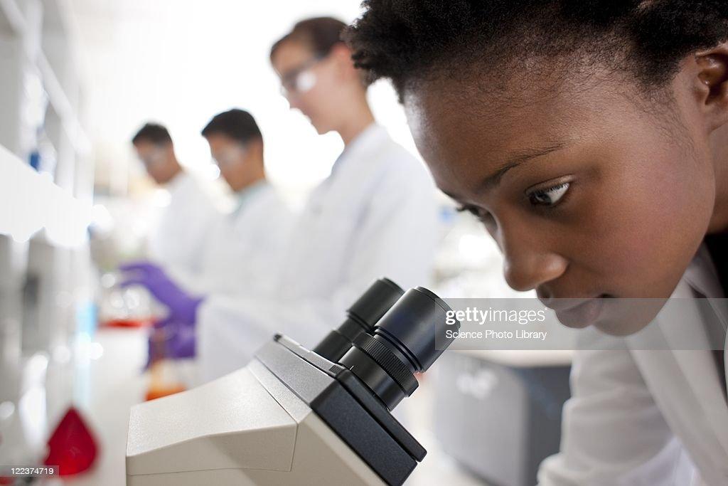 Biologists : Stock Photo
