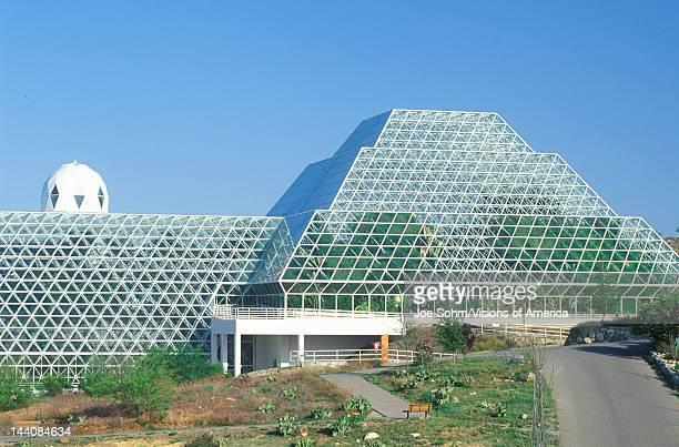 Biosphere 2 human habitat at Oracle in Tucson AZ
