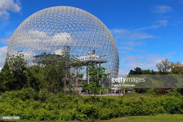 biosphere, montreal, quebec, canada - パビリオン ストックフォトと画像